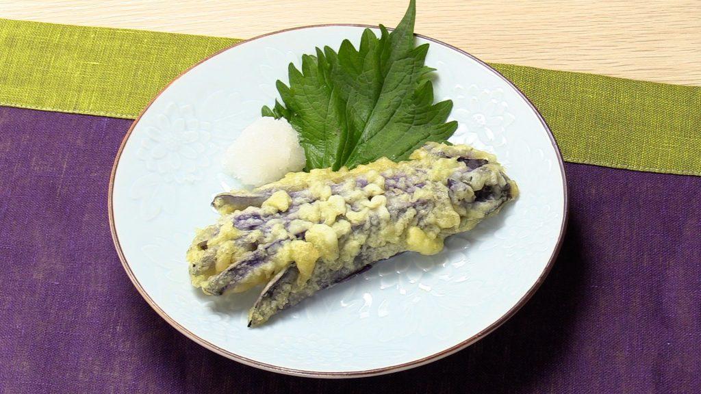 【手軽に家庭で作れる介護食】茄子の天ぷら|訪問歯科ネット
