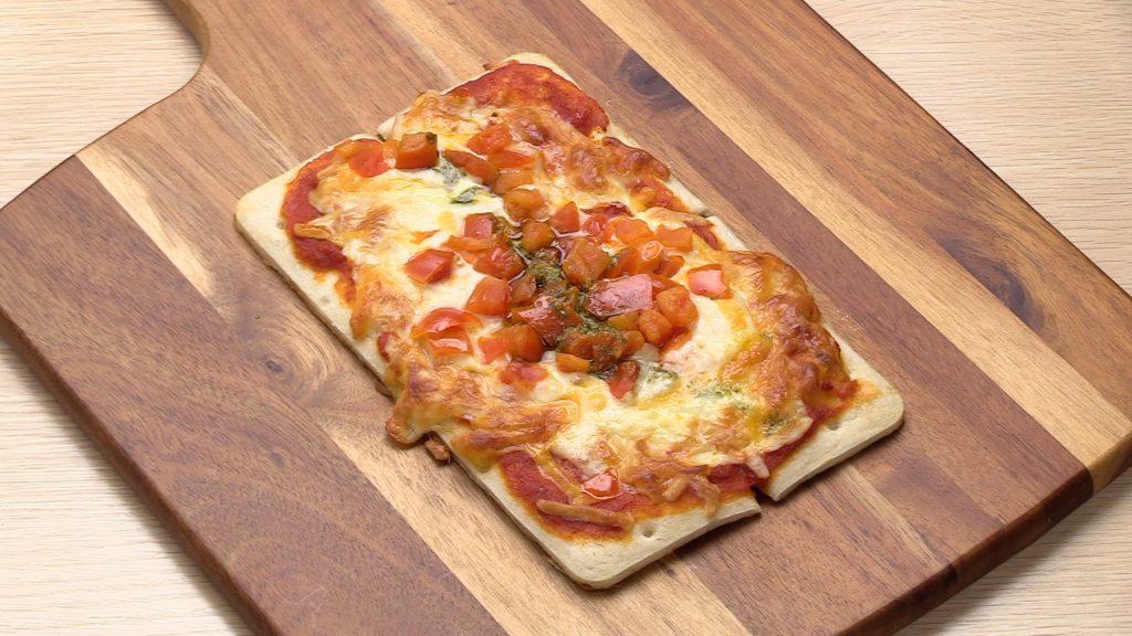 【手軽に家庭で作れる介護食】ピザマルゲリータ|訪問歯科ネット