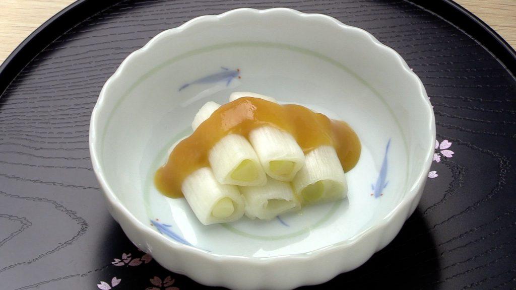 【手軽に家庭で作れる介護食】ねぎのぬた|訪問歯科ネット